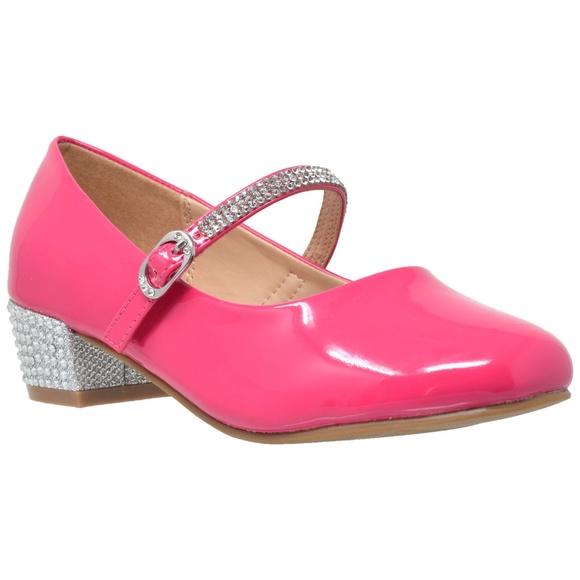 8b9dc6ec7 Fuchsia Rhinestone Ankle Strap Mary Jane | Poshmark